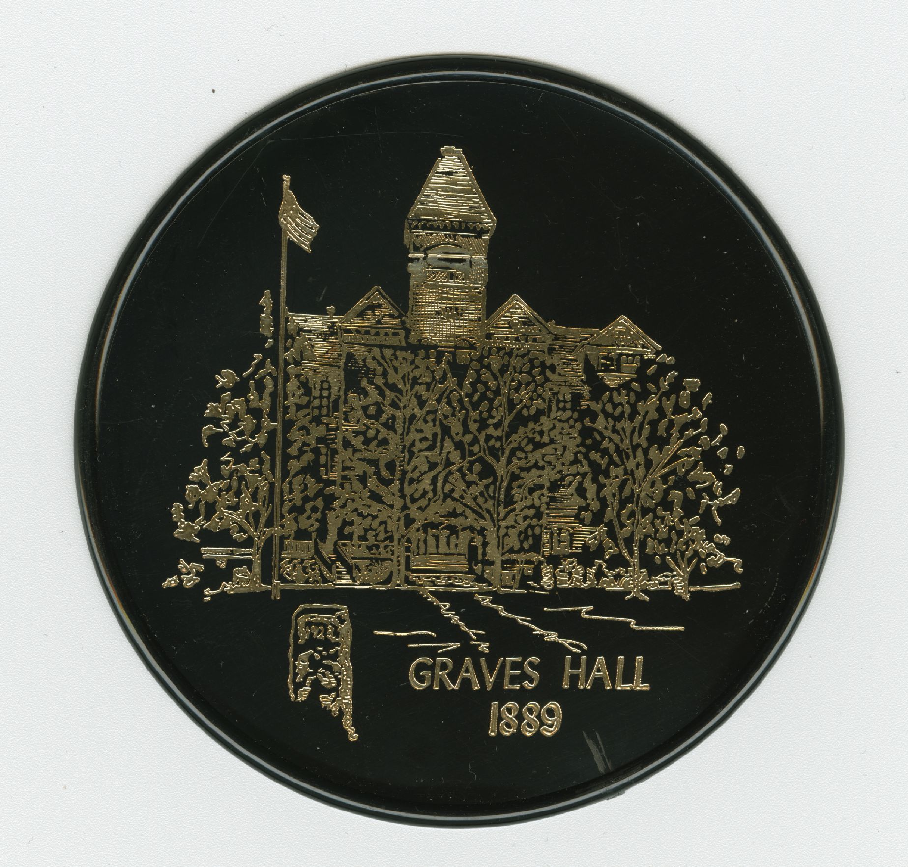 Morehouse Centennial commemorative coaster; circa 1967<br />