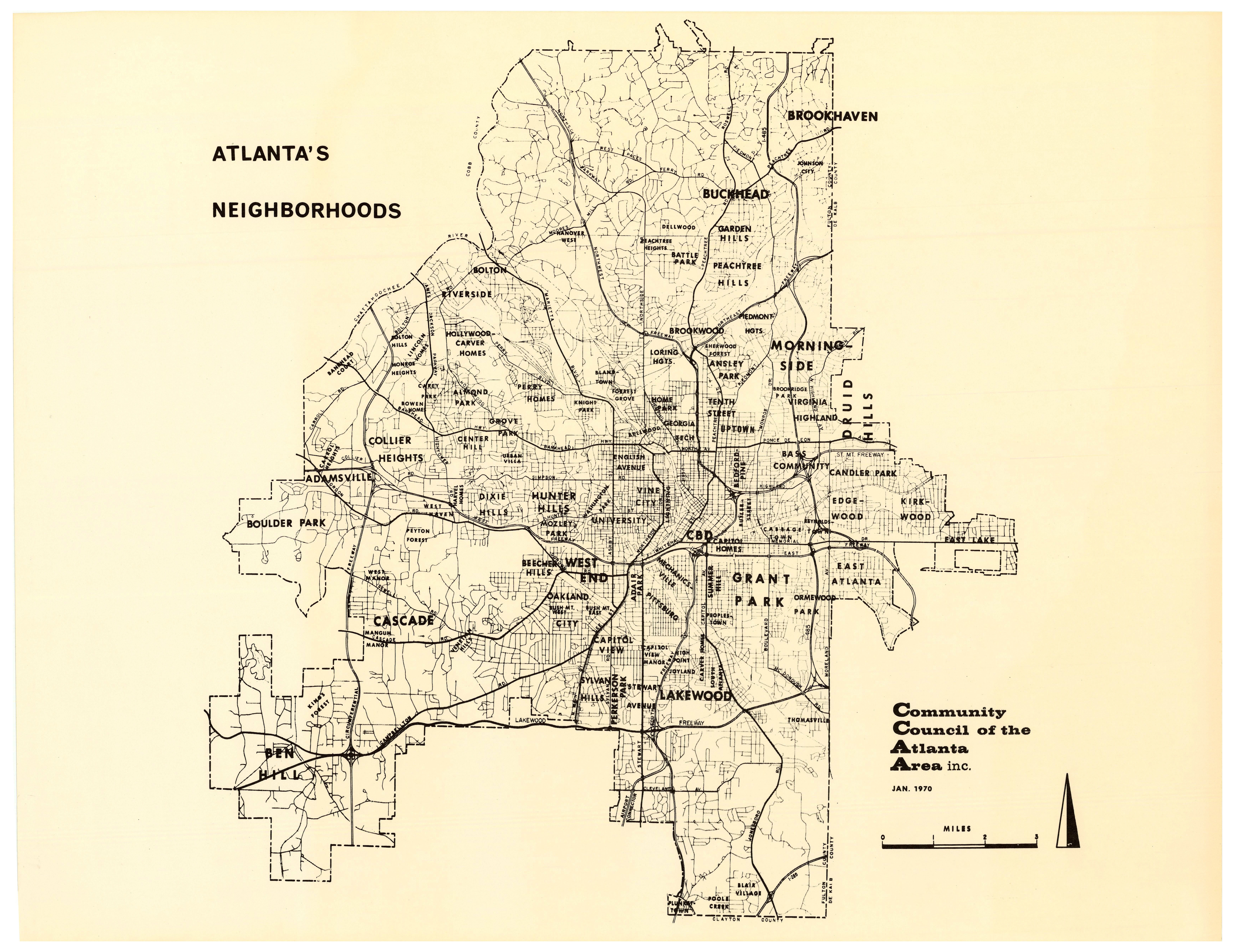 Atlanta's Neighborhoods