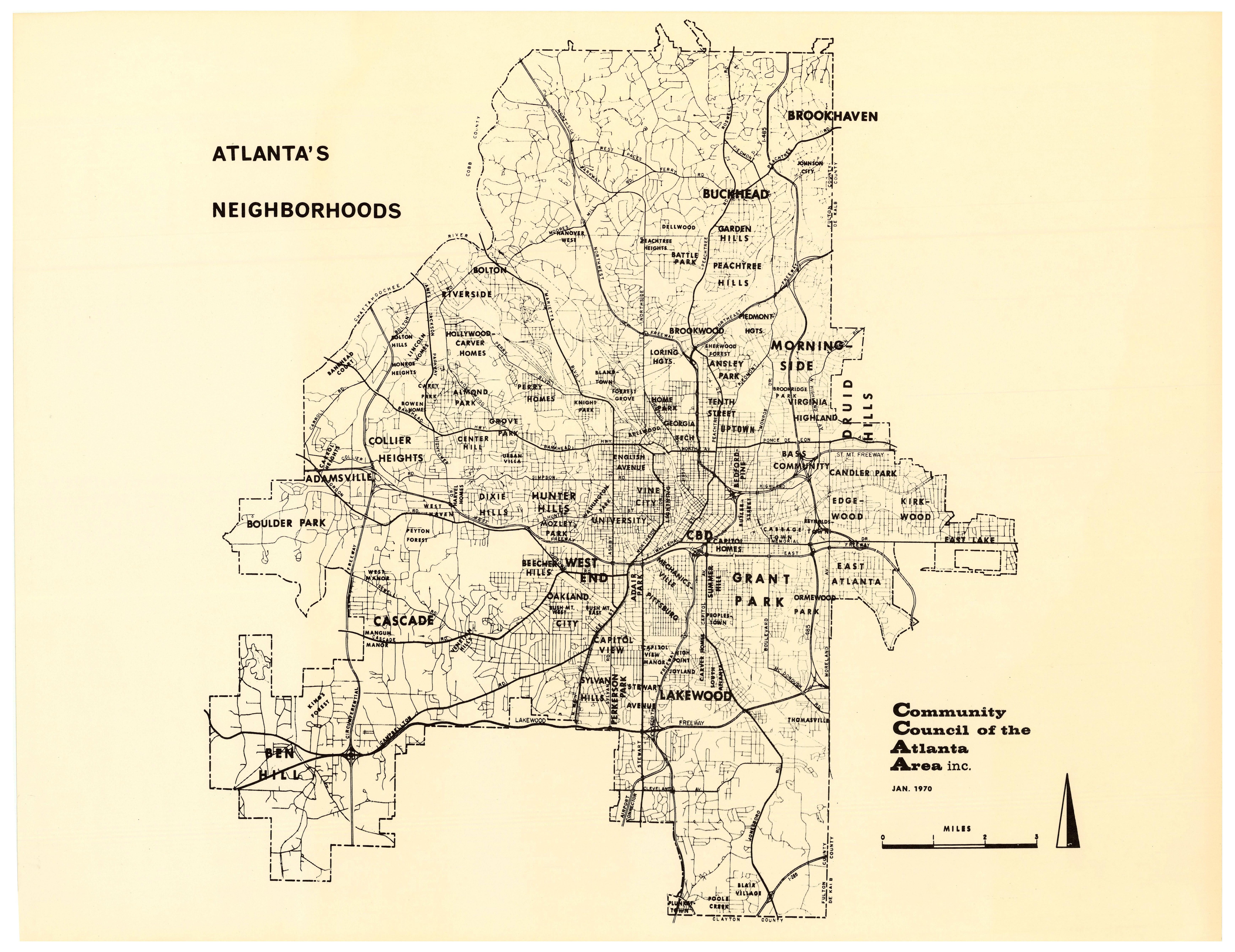 Atlanta's Neighborhoods