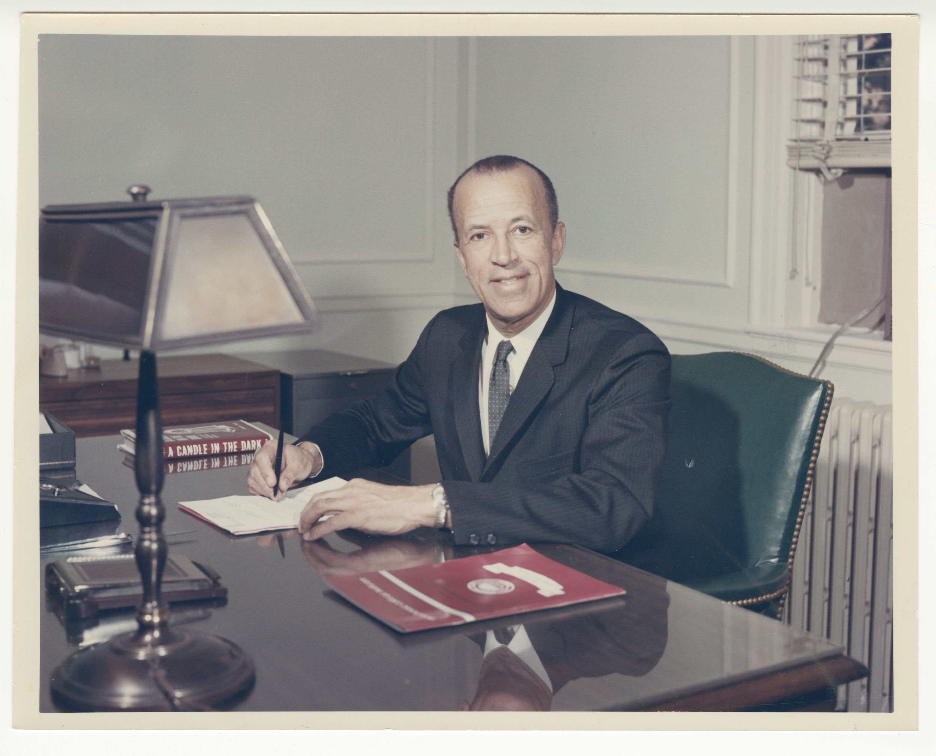 Hugh M. Gloster; 1967<br />