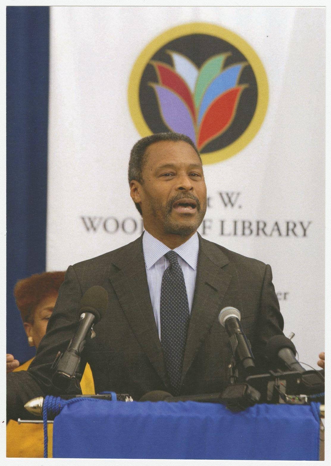 Photograph of Dr. John Silvanus Wilson, Jr.; April 2017<br />