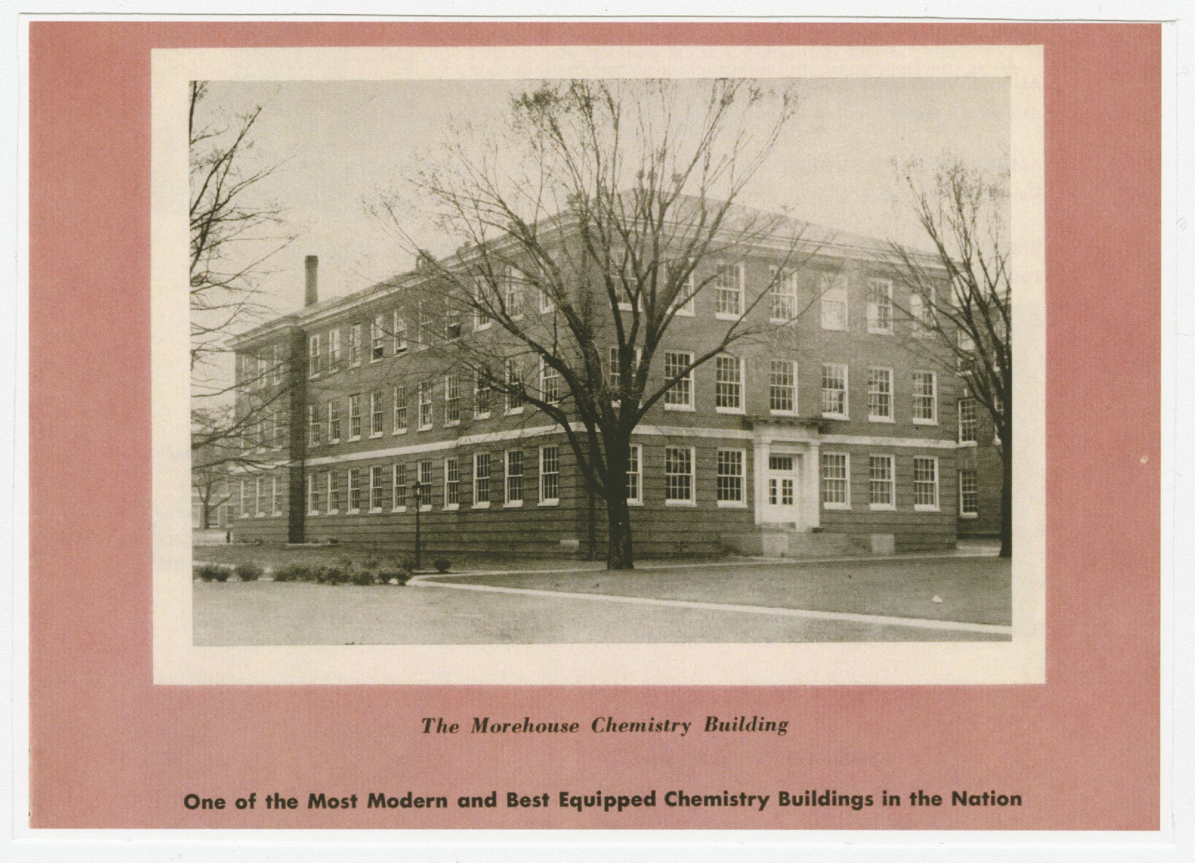 "The Chemistry Building from ""The Record Speaks"" Brochure; 1955<br />"