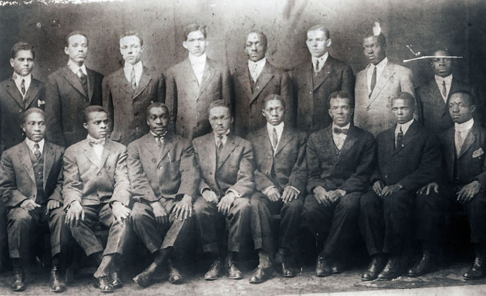 Alpha Sigma Literary Society, Clark, 1914<br />