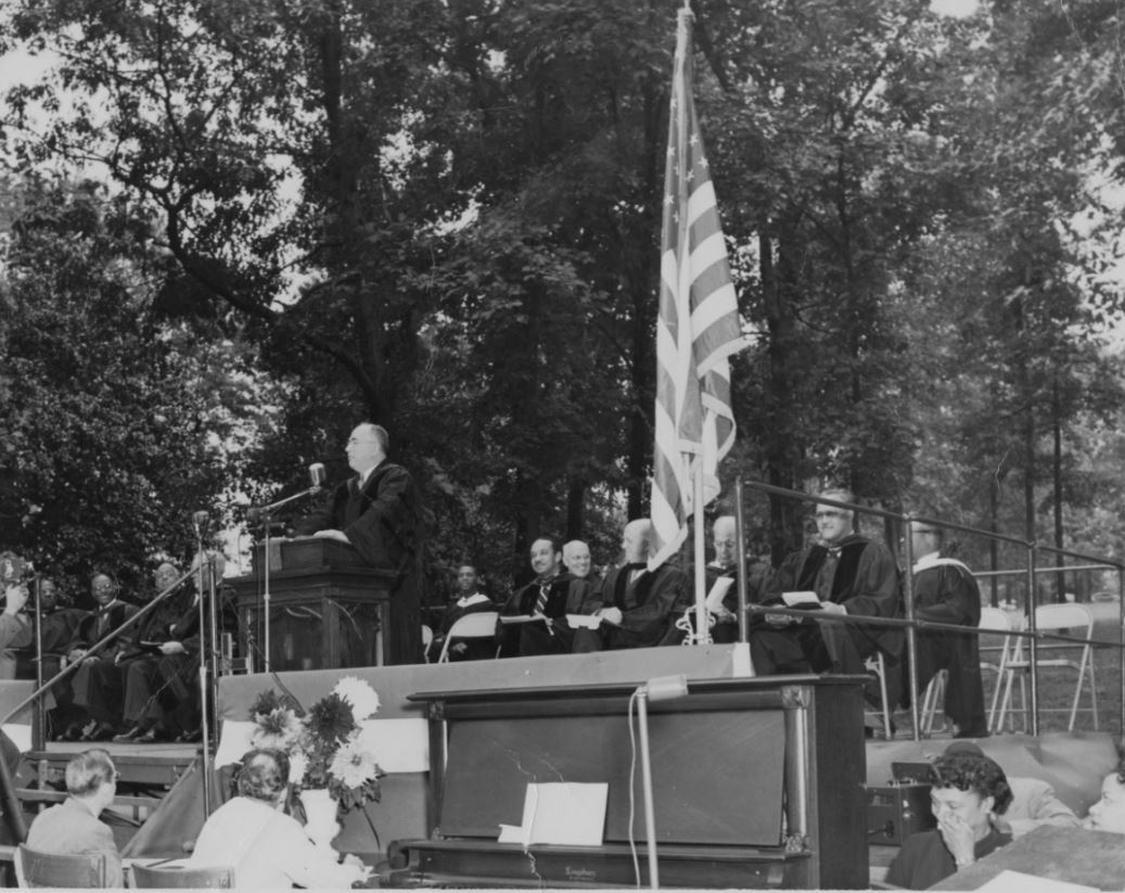 Harry V. Richardson Inauguration