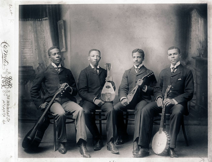 Atlanta University quartet, 1894<br />