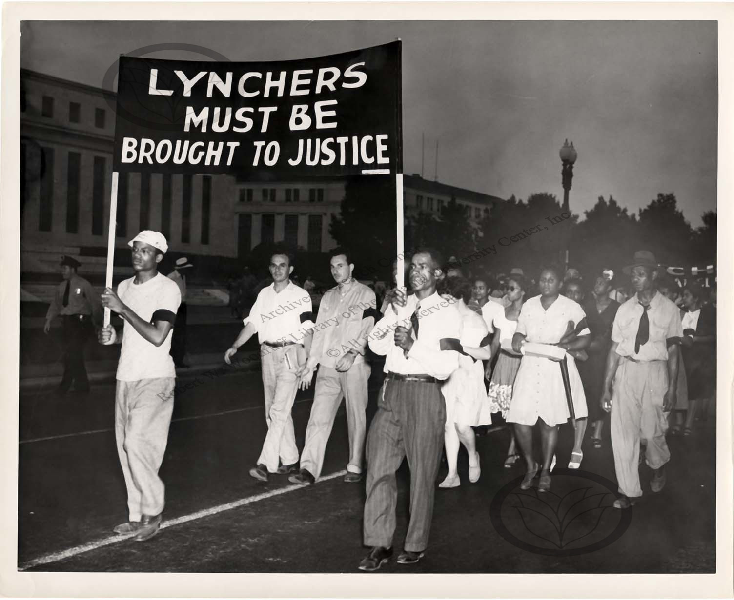 Memorial Funeral Service for Lynching Victims<br />