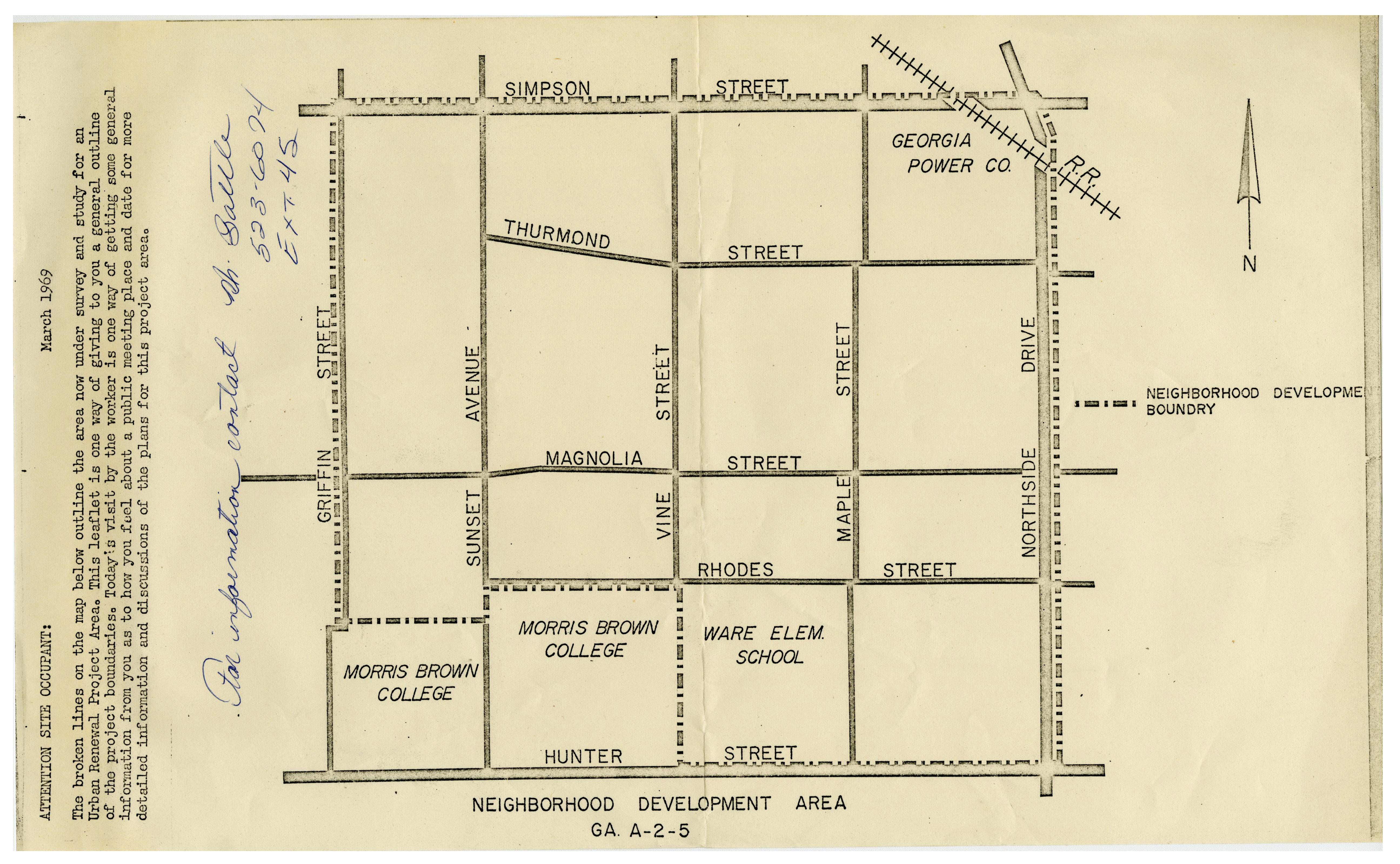 Neighborhood Development Area