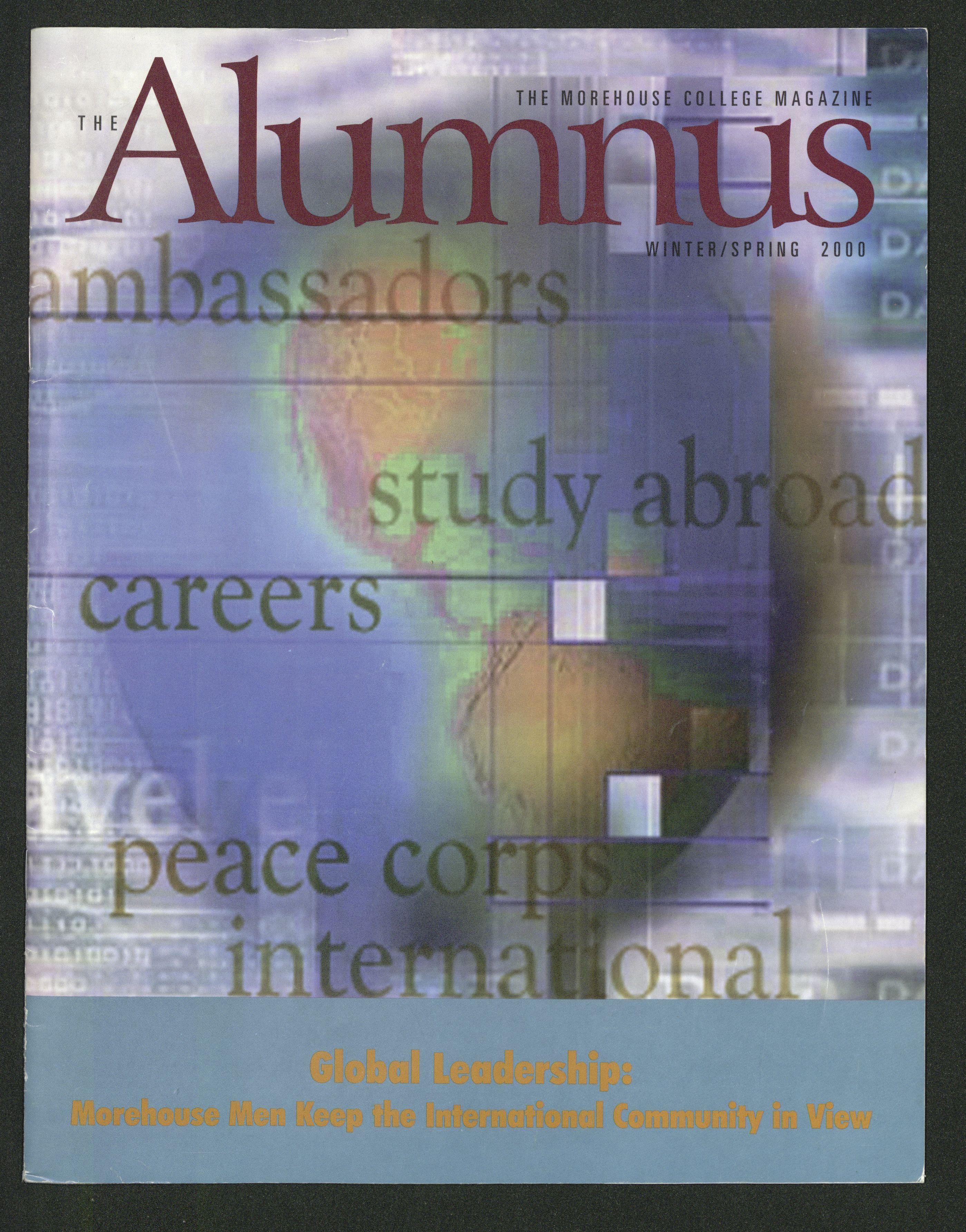 The Alumnus, Global Leadership: Morehouse Men Keep the International Community in View; 2000<br />