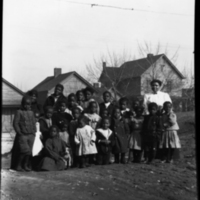 Group Activity at a Neighborhood House