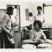 Three Unidentified Men in Music Department