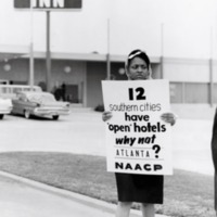 NAACP picket hotels in Atlanta