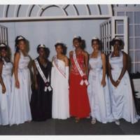 Miss Clark Atlanta University, and Others at Homecoming Coronation<br />