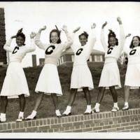 Clark College Cheerleaders