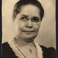 Photograph of Mary Britain Greenwood, a founding member of Chautauqua Circle<br />