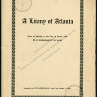 """A Litany of Atlanta"""