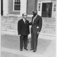 Armeriak Boyavion and Benjamin E. Mays,