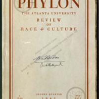 Phylon: The Atlanta University Review of Race & Culture