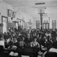 Classroom in Union Hall, Spelman, c. 1880s