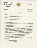 Correspondence from Councilman Jabari Simama to John Reid